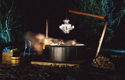 Led Kronleuchter Outdoor ~ Fatboy rockcoco kronleuchter edler outdoor leuchter